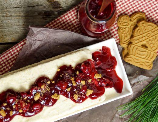 Spekulatius Parfait Rezept Dessert für Weihnachten