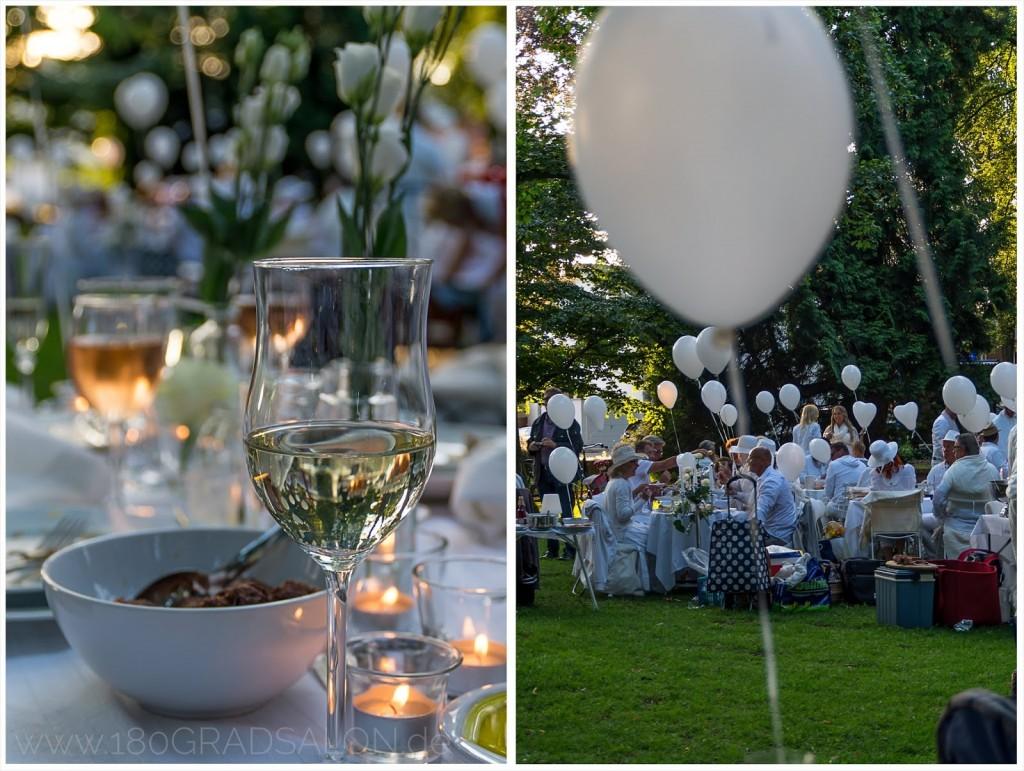 Diner en blanc 2014 in Bocholt mit Tipps