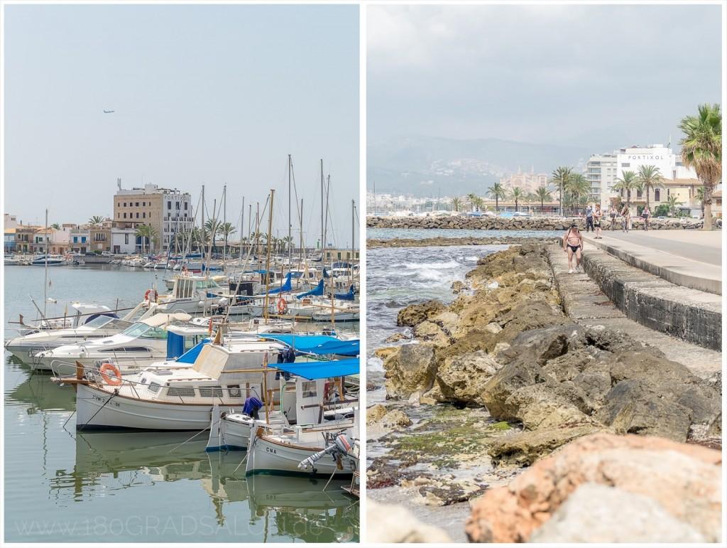 Radtour Playa de Palma bis Palma de Mallorca