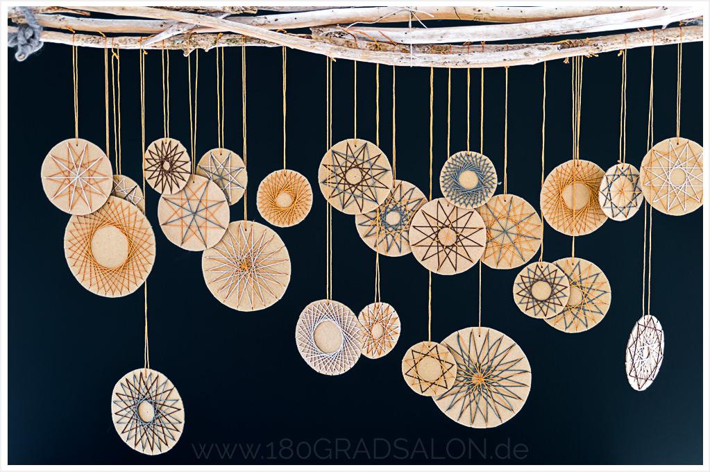 fadengrafik sterne aus b ckergarn adventsdeko basteln. Black Bedroom Furniture Sets. Home Design Ideas