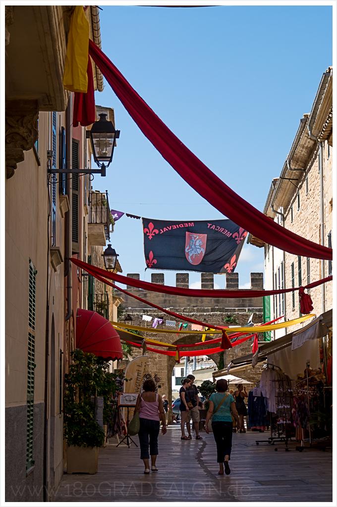 Altstadt von Alcudia auf Mallorca 180gradsalon