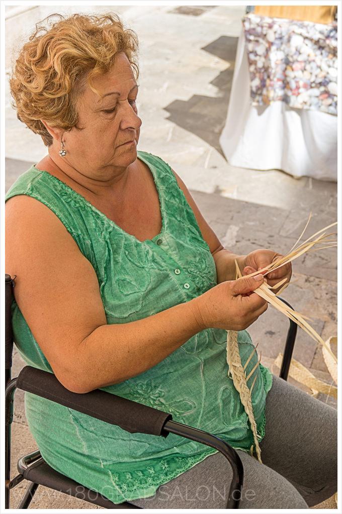 Mallorca Arta Dienstag Markt Tipp Ausflug 180gradsalon Llata Korbflechten