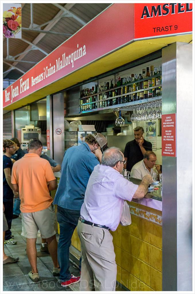 Markthalle Mercat de Santa Catalina Palma de Mallorca 180gradsalon