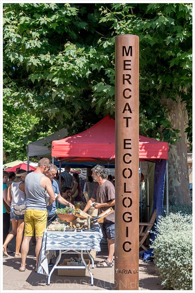 Sonntag ist Markt in Santa Maria del Cami und er ist einer der schönsten Märkte auf Mallorca Mercat Ecologic