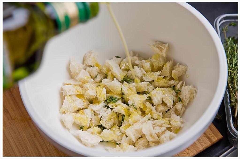^gefüllte Aubergine mit Honig-Kirschtomaten und Basilikum Mandel-Pesto zur IKEA Aktion #IKEASommerimGlas 180gradsalon