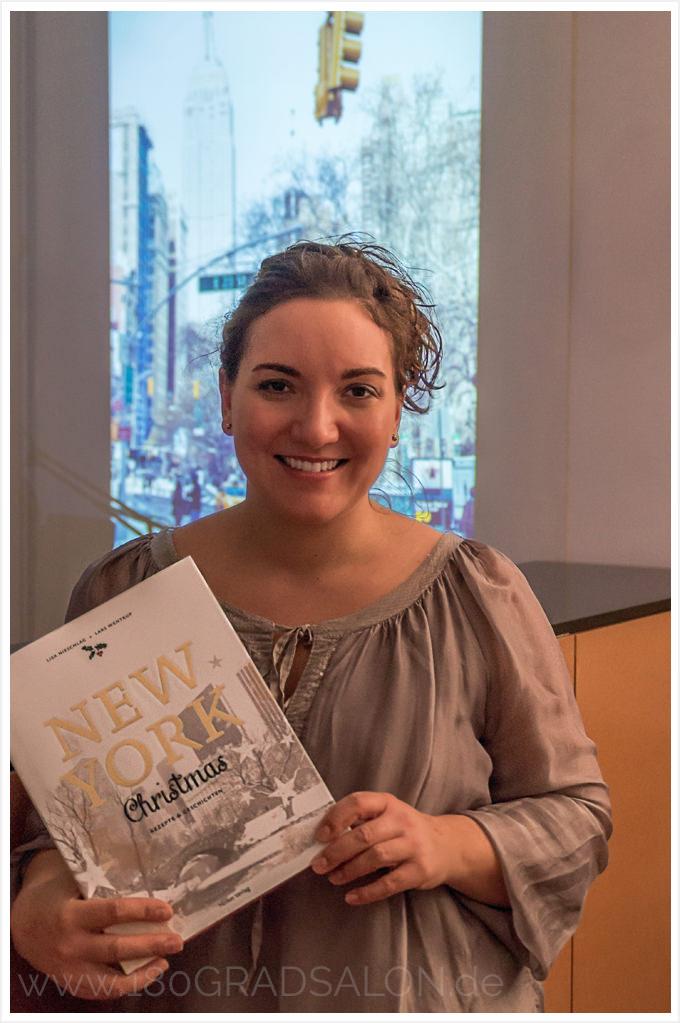 Buch New York Christmas Rezepte Lisa Nieschlag Lars Wentrup 180 grad salon