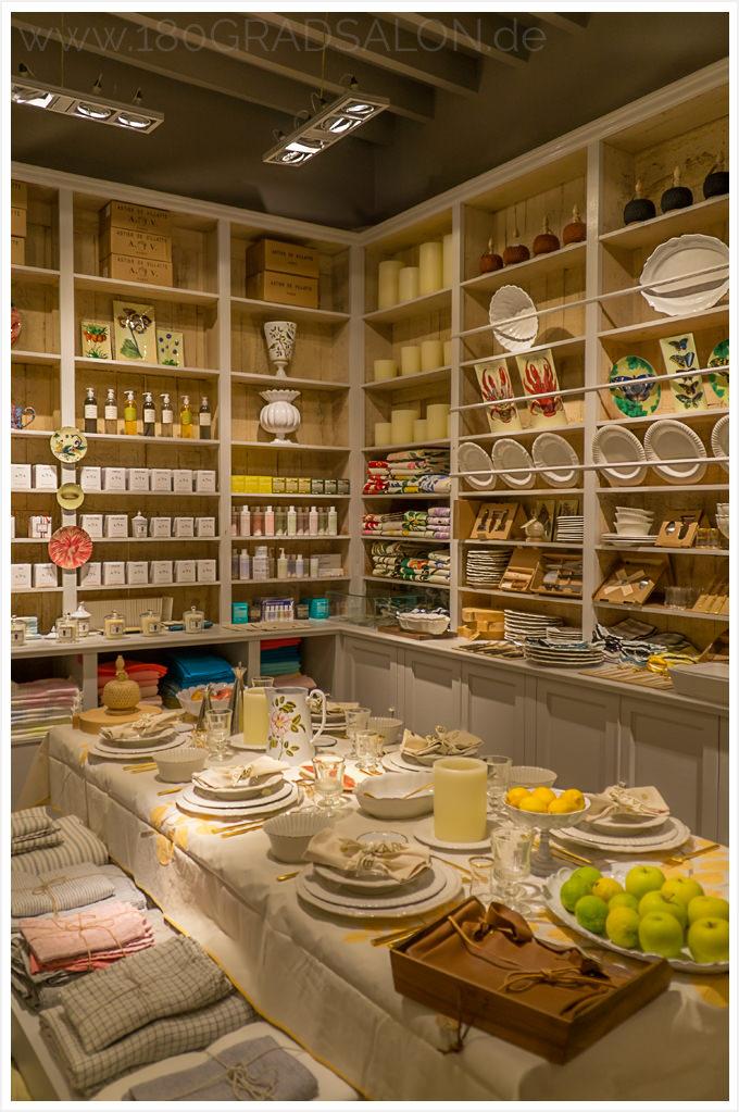 Bazaar Palma de Mallorca hochwertige Kerzen, Gläser, Geschirr, Textilien, Papeterie & Naturkosmetik in den Gassen der Altstadt
