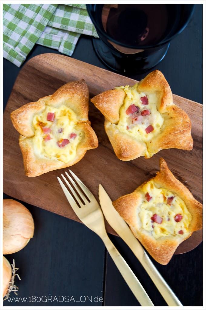 Zwiebelkuchen Muffins Rezept