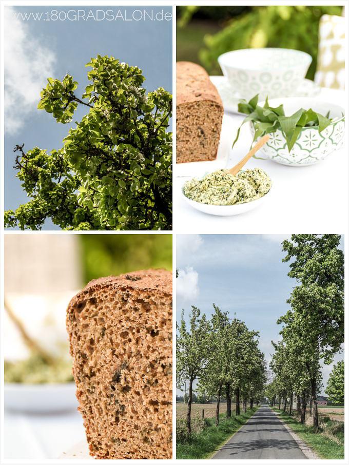 Rezepte mit Bärlauch für ein Bärlauch Brot mit Bärlauch Butter