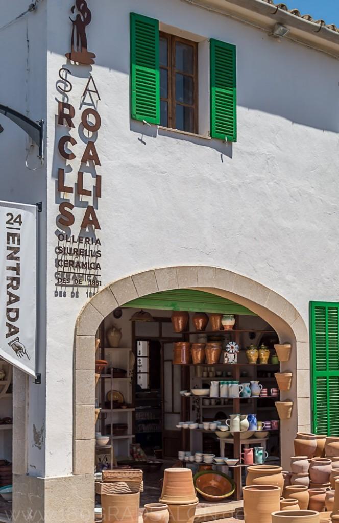 Töpferei Sa Roca LLisa in Portol auf Mallorca Besichtigung von traditionellem Handwerk in der Werkstatt 180gradsalon