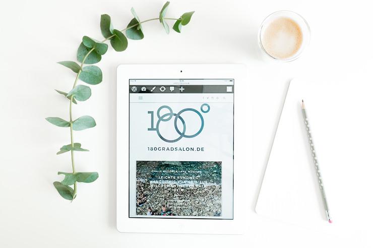 180 grad Salon Blog Umzug von Blogger zu WordPress