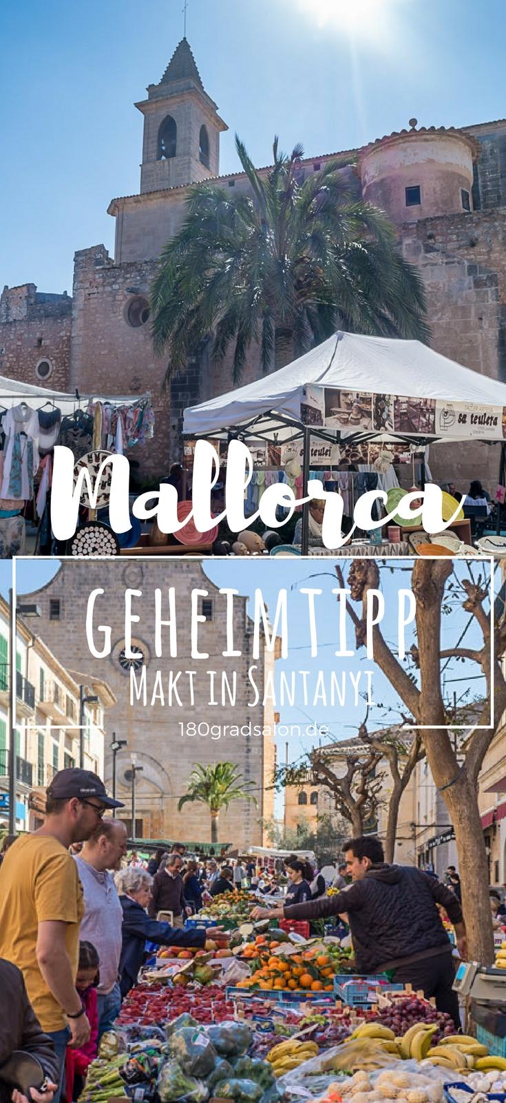 Auf Mallorca ist jeden Tag Markt auf der Insel. Der Wochenmarkt in Santanyi ist ein Ausflug Tipp für die ganze Familie.