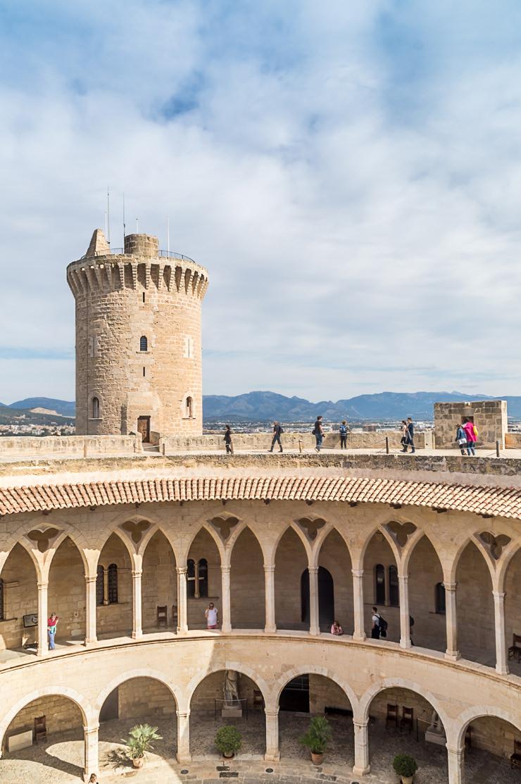 Castell de Bellver Palma de Mallorca kostenloses Sightseeing