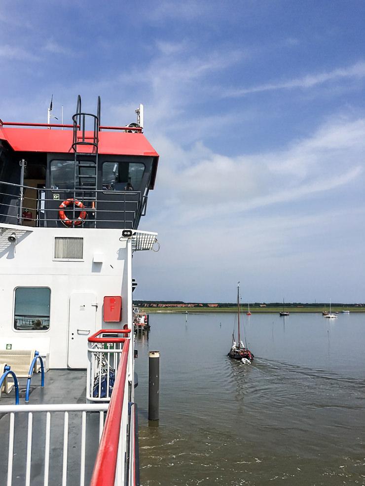 Ein Sommer Wochenende mit der Familie auf der Insel Ameland in Holland