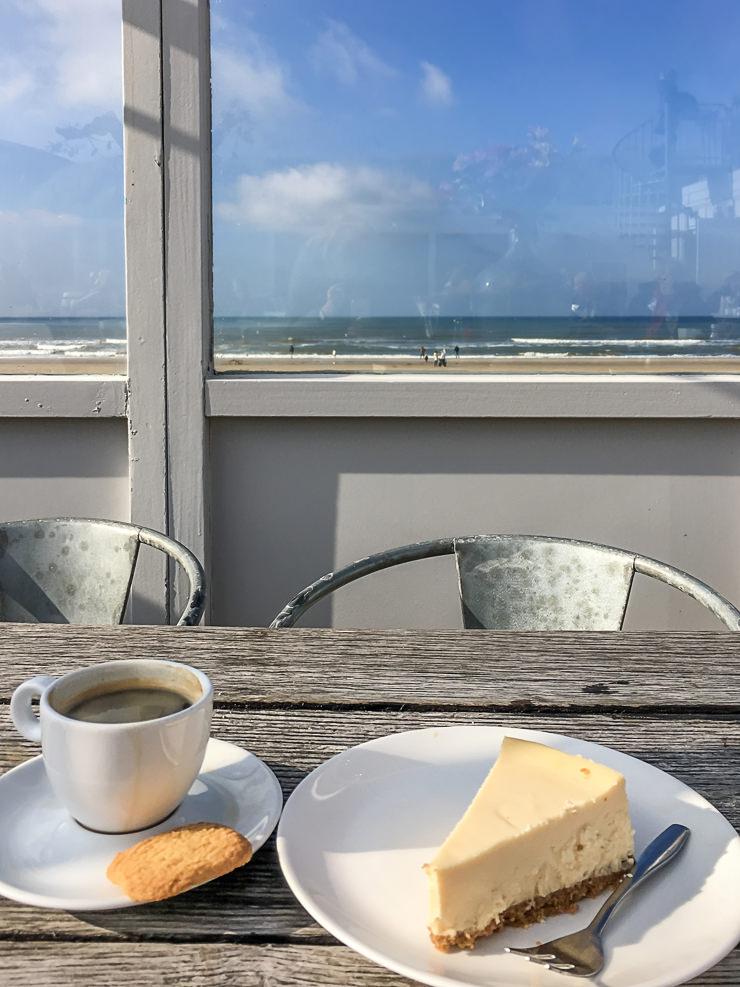 Egmond aan zee Nordsee Herbst Strand Hotel Strandpaviljoen Noord Bergen aan Zee