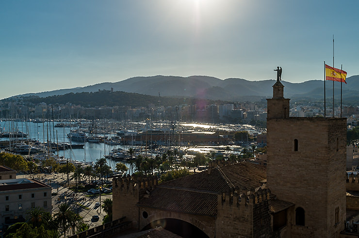 Führung auf die Terrassen der Kathedrale von Palma de Mallorca