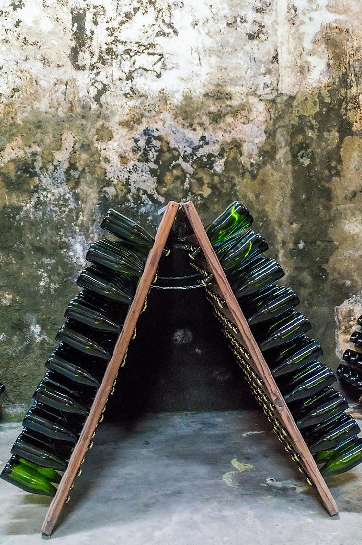 Besichtigung der Weinkellerei Bodega José Luis Ferrer Mallorca in Binissalem