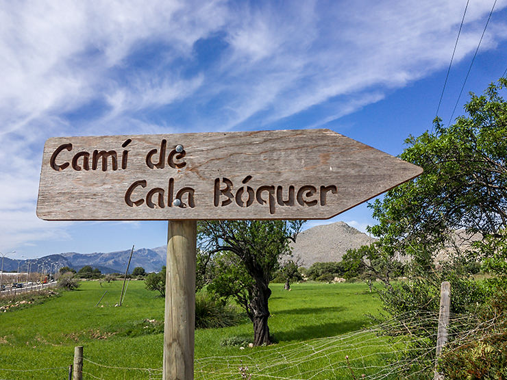 Mallorca Wanderung zur Cala Bóquer bei Port de Pollenca. Tipp Wandern im Urlaub.
