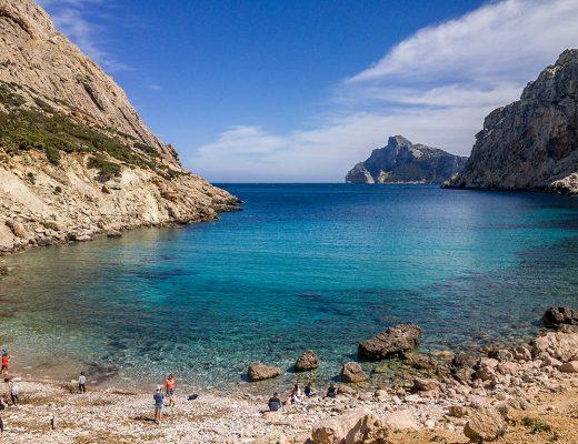 Mallorca Wanderung zur Cala Boquer bei Port de Pollenca. Tipp Wandern im Urlaub.