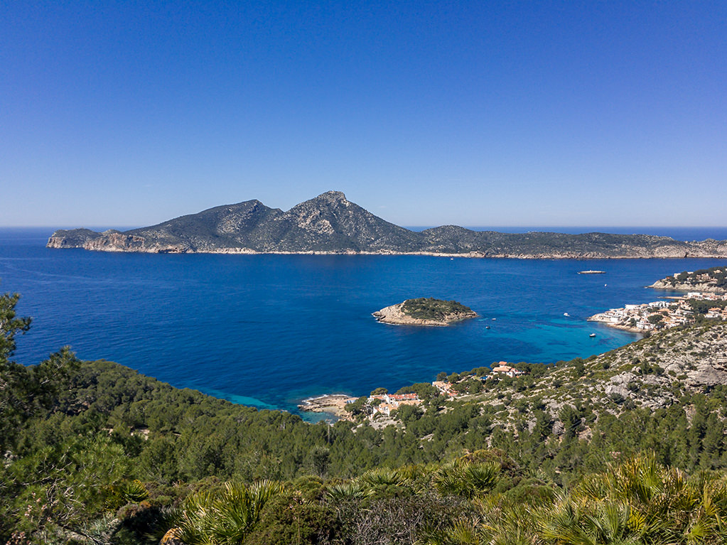 Mallorca Wanderung von Port d'Andratx bis Sant Elm wander Info Route Insel Dragonera