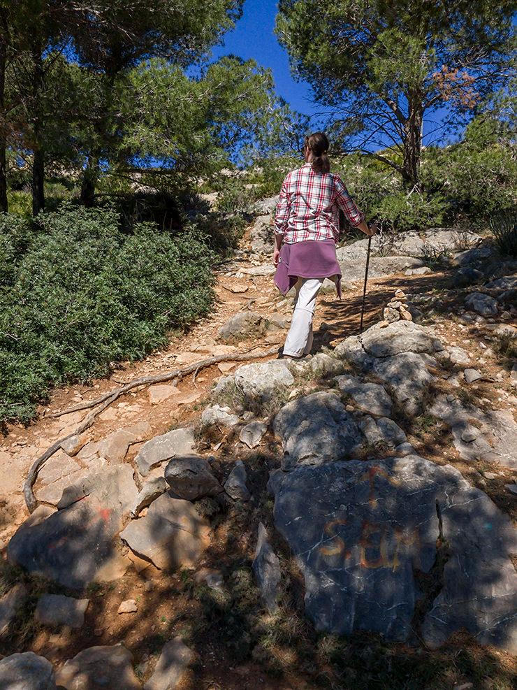 Mallorca Wanderung von Port d'Andratx bis Sant Elm wander Info Route