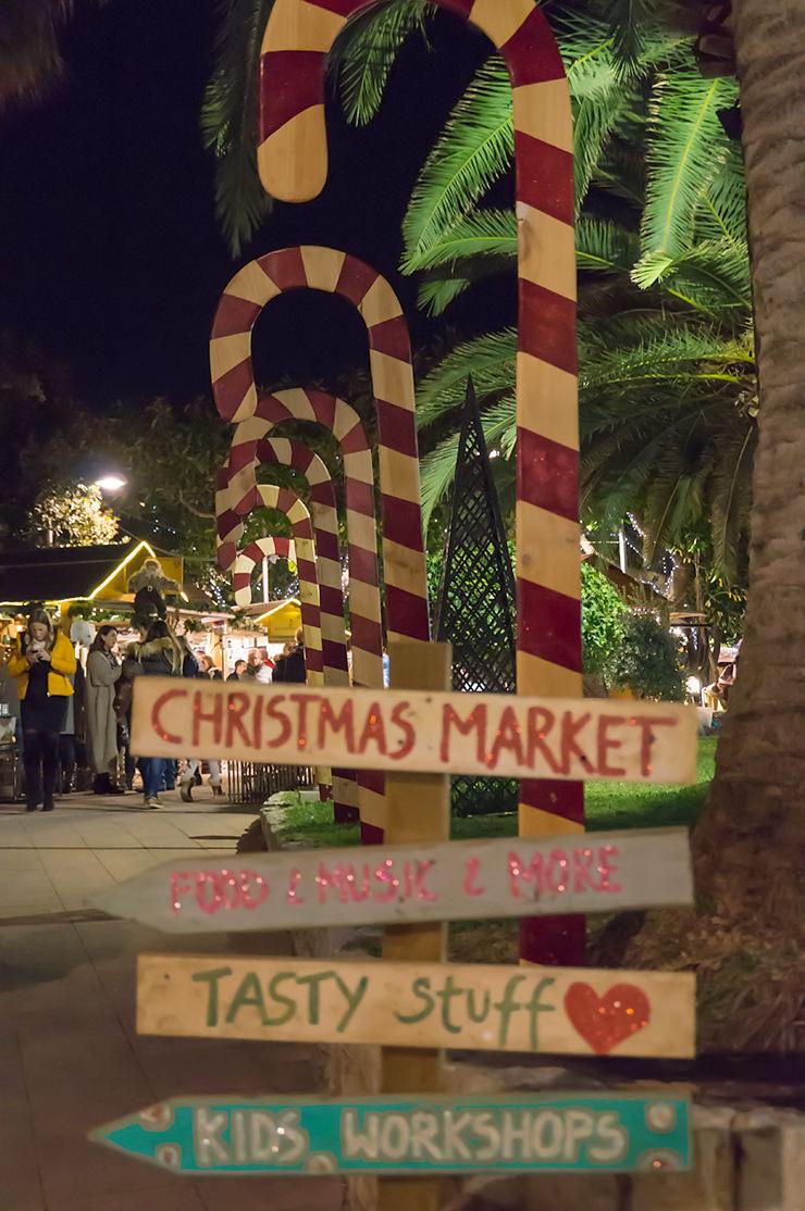 Palma de Mallorca Weihnachtsbeleuchtung 2019 und Puerto Portals Weihnachtsmarkt