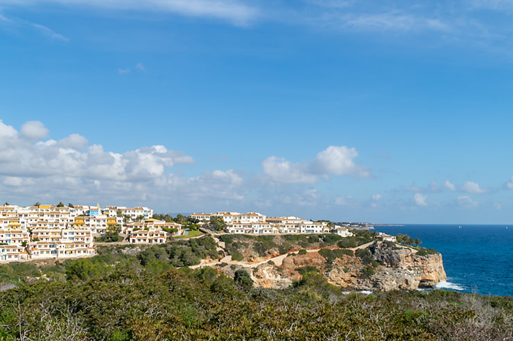 Mallorca Wanderung von der Cala Romantica zum Felsentor Cova des Pont