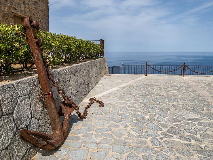 Mallorca Aussichtspunkt - Placa Santa Catarina in Port de Sóller